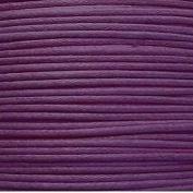 k2-accessories 30M 1mm Waxed Cotton Thong Cord - Dark Purple - C0598 / 3 Bundles