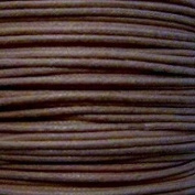 k2-accessories 30M 1mm Waxed Cotton Thong Cord - Chocolate - C0595 / 3 Bundles