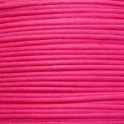 k2-accessories 30M 1mm Waxed Cotton Thong Cord - Hot Pink - C0593 / 3 Bundles