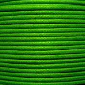 k2-accessories 30M 1mm Waxed Cotton Thong Cord - Emerald Green - C0591 / 3 Bundles