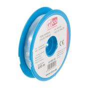 Nylon Beading Cord Wire Thread Clear Fishing Wire mono-filament (0.15mm x 100M, 0.4kg TS) perlon thread
