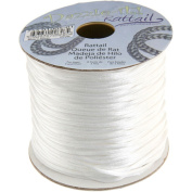 Dazzle It 1.5 mm Rattail Cord 100 yd, White