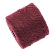 Superlon Bead Cord Tex210 - Dark Red - 70m