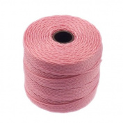 Superlon Bead Cord Tex210 - Pink - 70m