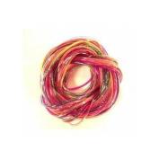 Scoubidou threads glitter colorsx12