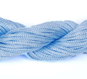 Orien Pale Blue Dia of 1mm*27 Metr Spool Nylon Macrame Cords Thread String Rope Strape Beading Rattail for DIY Shamballa Braided Jewellery Bracelet Chinese Knot