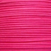 k2-accessories 1mm Waxed Cotton Thong Cord - Hot Pink - C0593 / 10 Mtrs