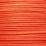k2-accessories 1mm Waxed Cotton Thong Cord - Orange - C0608 / 10 Mtrs