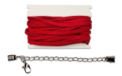 Leather Cord Starter Pack - Red