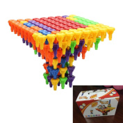 Needra 96PCS Toy Building Blocks Montessori Therapy Fine Toy for Toddlers