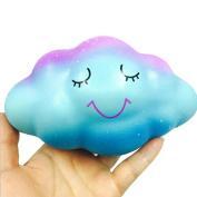 Soft Toys,Familizo 16cm Rainbow Cloud Cream Scented Squishy Dolls Slow Rising Squeeze Toys