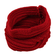 Tangbasi® Kids Boys Girls Loop Scarf Mufflers Winter Neck Warmer Knitted O Ring Neck Scarf