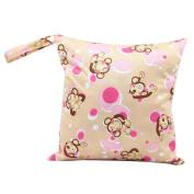 Baby Waterproof Zipper Bag Washable Reusable Baby Cloth Nappy Bag Nappy Organiser Von Juily