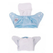 QHGstore Reusable Nappy Liners Insert 2 Layers Modern Baby Cotton Cloth Nappy