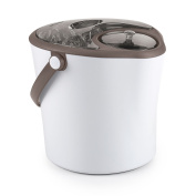 Polder Products Chill Station, Stainless Steel, White, 23 x 24 x 25 cm