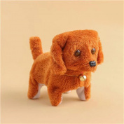 Bekia Music Light Cute Robotic Electronic Walking Pet Dog Puppy Kids Toy BW