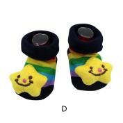 MML Baby Socks, Cartoon Dog Panda Toddler Boys Girls Thick Cuff Anti-Slip Socks Slipper Shoes Boots
