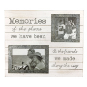 Just Contempo Special Memories Photo Frame, Distressed White