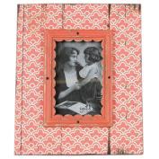 Just Contempo Moroccan Photo Frame, Coral Pink, 10cm x 15cm