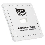 Kumihimo Braiding Disc 15cm Square Includes 3 Project Ideas