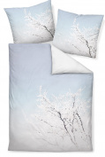 Janine Design Ice Modern Art 42018 – 02 Maco Satin Bed Linen, 100% Cotton, multi-coloured, 135 x 200 cm + 80 x 80 cm