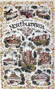 Northumbria Tea Towel - Northumberland