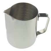 Barista Milk Jug 600ml Stainless Steel Ideal For Coffee Latte Cappuccino