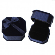 Nibesser Ring Box Jewellery Box Earring Ring Pendant Jewellery Display Organiser