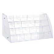 Nibesser Makeup Organiser Large Capacity Pen Rack Cosmetic Storage Shelf for Bedroom Storage Box