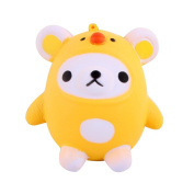 Creative Squishy Toys, Kawaii Cute Bear Jumbo Slow Rising Squeeze Toy Kawaii Toy Collection Cure Gift for Collection Gift Decorative Props Stress Originals for Kids
