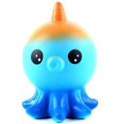 Cartoon Squeeze Toys, Xshuai Jumbo Cute Unicorn Octopus Scented Squishy Charm Super Slow Rising Relieve Stress Cure Decompression Toys Gift for Kids