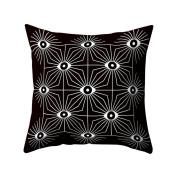 Verlike Eyes Print Pattern Throw Pillow Case Bed Sofa Waist Cushion Cover Home Decor