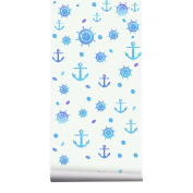 Broadroot Anchor Pattern Removable Wall Sticker Decal Adhesive Kids Room Art Decor