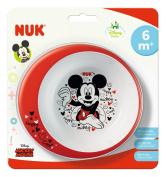 NUK Disney Mickey 80890771 Bowl Non-Slip Base BPA-Free for Ages 6 Months Multi-Coloured