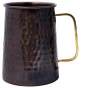 Melange 100% Authentic Hammered Copper Beer Stein, Antique Finish, Size-590ml