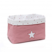 Alondra Rose 618 – 182 – Padded Basket for Children Colonies, Pink