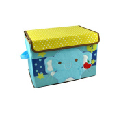 Childrens Collapsible Storage Box Chest Large Toy Book Kids Bedding Laundry with Lid by Harson & Jane
