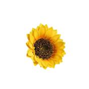 Hot Sale!!! Fake Silk Artificial Sunflower Flower Heads Bouquet Floral Garden Home Decor