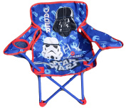 Arditex sw9465 Folding Chair with Arms and Star Wars Case