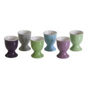 Ceramic Egg Cup with Base farb. sort. Egg Holder Cup Egg Holder Egg