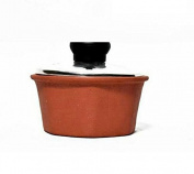 Terracotta Handmade Naturally Cool butter box, Organic Brown handmade ayurvedic design