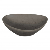 ASA Cuba Grigio Grey Ceramic Soup/Pasta Plate 27 cm