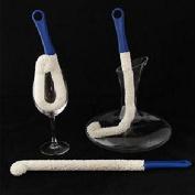 Espeedy Soft Bendable Foam Wine Decanter Stemware Glasses Dust Cleaning Brush Tool