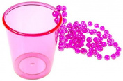 Neck Party Shot Glass, Shot Glass, Plastic, JGA, Fasching, Karneval