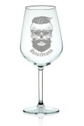 'Hipster' Leonardo Wine Glass with Engraving
