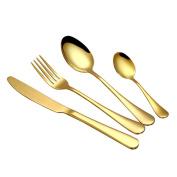 Fullfun Stainless Steel Flatware Cutlery - Fork Spoon Knife, Gift Box