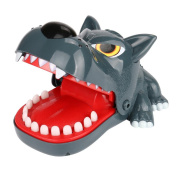 CYCTECH 16CM Creative Hungry Wolf Dentist Game Classic Biting Hand Doll Charm Relieve Anxiet Stress Kids Toy Gifts