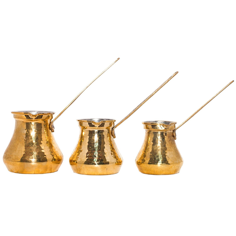 Small Pot Stove Top Coffee Maker Greek Arabic Coffee Maker Hammered Cooper Coffee Cezve Turkish Coffee Pot