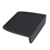 Benail Food Grade Silicone Rubber Coffee Espresso Tamping Mat with Corner Edge, Black