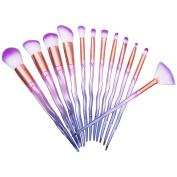 certainPL 12Pcs Pro Makeup Cosmetic Brushes Set Powder Foundation Eyeshadow Lip Brush
